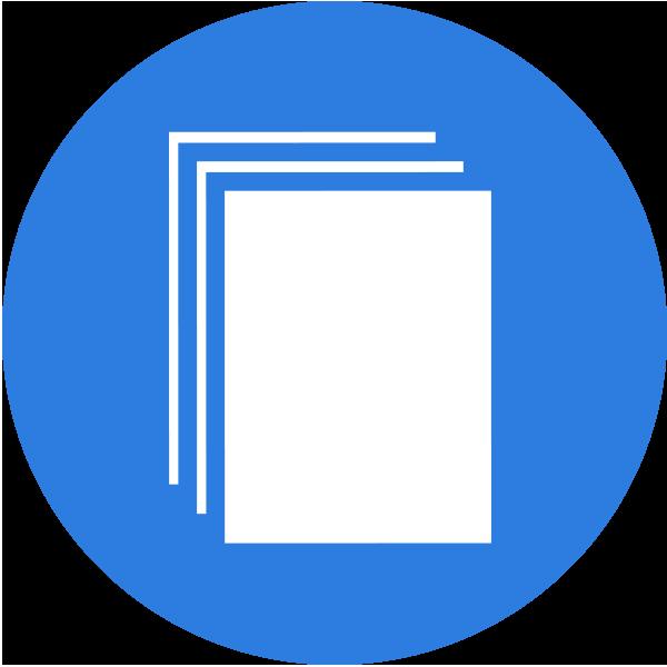 Services brochure Design Icon