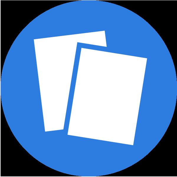 Services Leaflet Design Icon